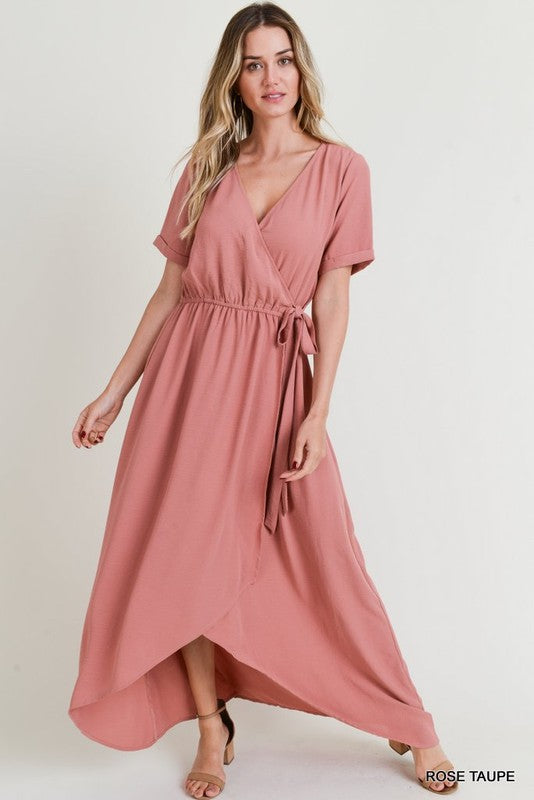 Harlow Surplice Maxi Dress - Other Colors Available