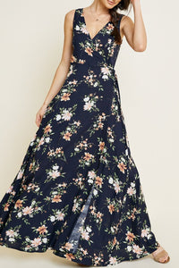 Elizabeth Floral Wrap Dress
