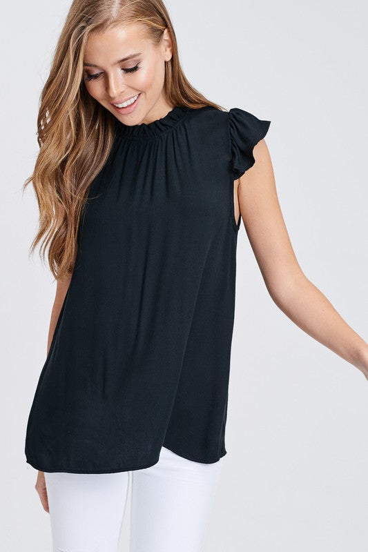 Emilee Mock Neck Top - Other Colors Available