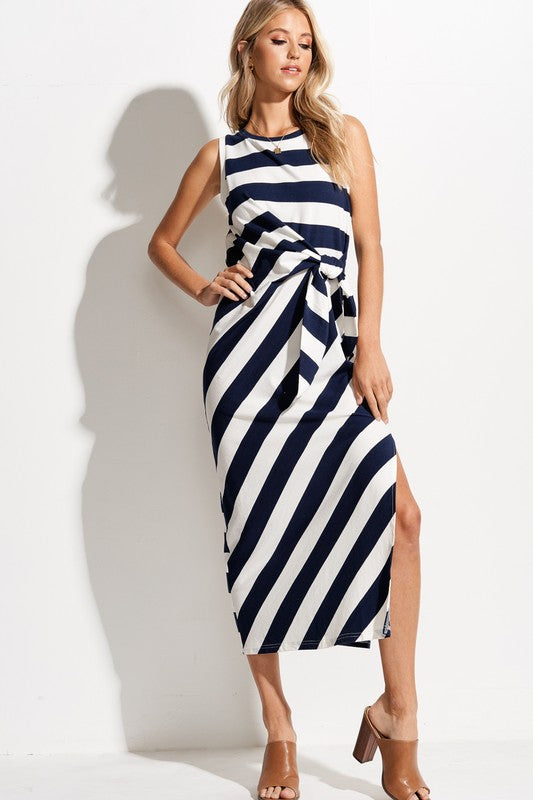Brayden Bold Stripe Casual Dress