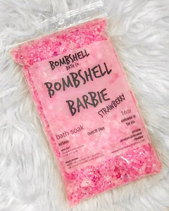 Bombshell Barbie Epsom Salt Bath Soak