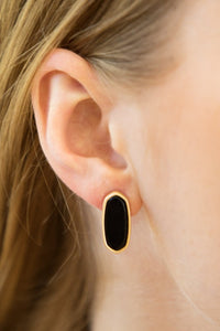 Ella Natural Stone Earrings - Other Colors Available