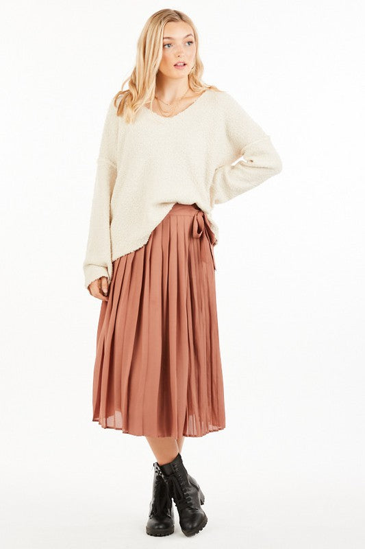 Laurel Wrap Midi Skirt