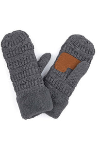 Knitted Mittens - Other Colors Available