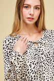 Ashton Leopard Print Top