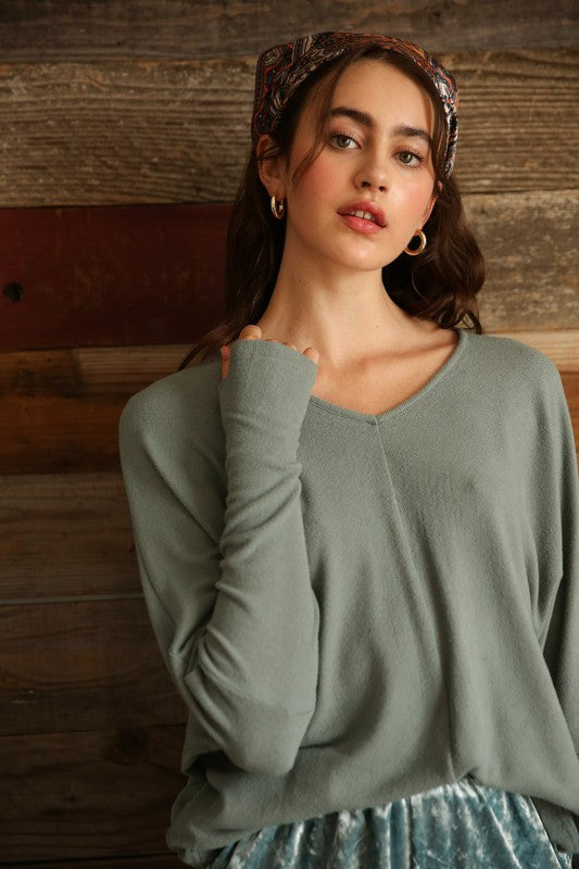 Mara Dolman Sleeve Top
