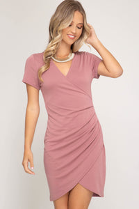 Samantha Tulip Hem Dress