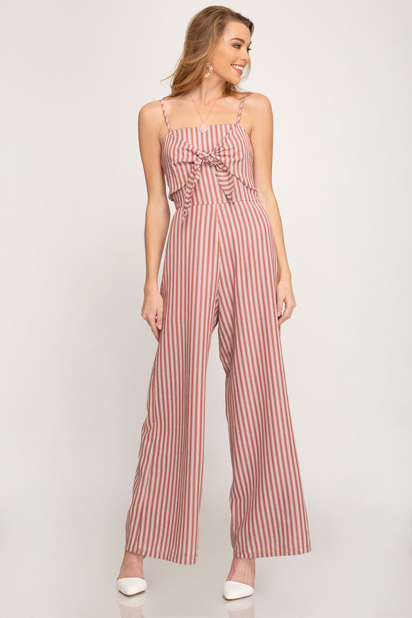 Monica Wide Leg Jumpsuit