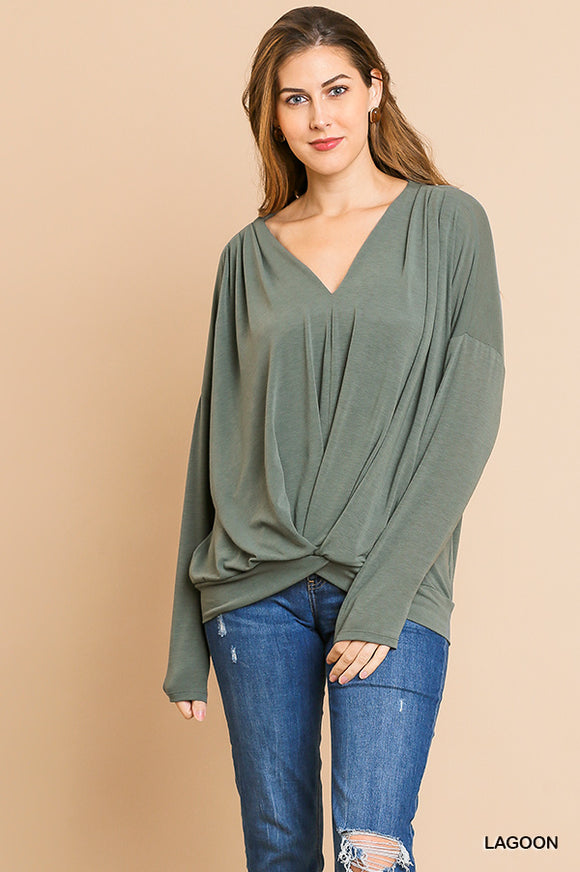 Finley Top with Knot Detail
