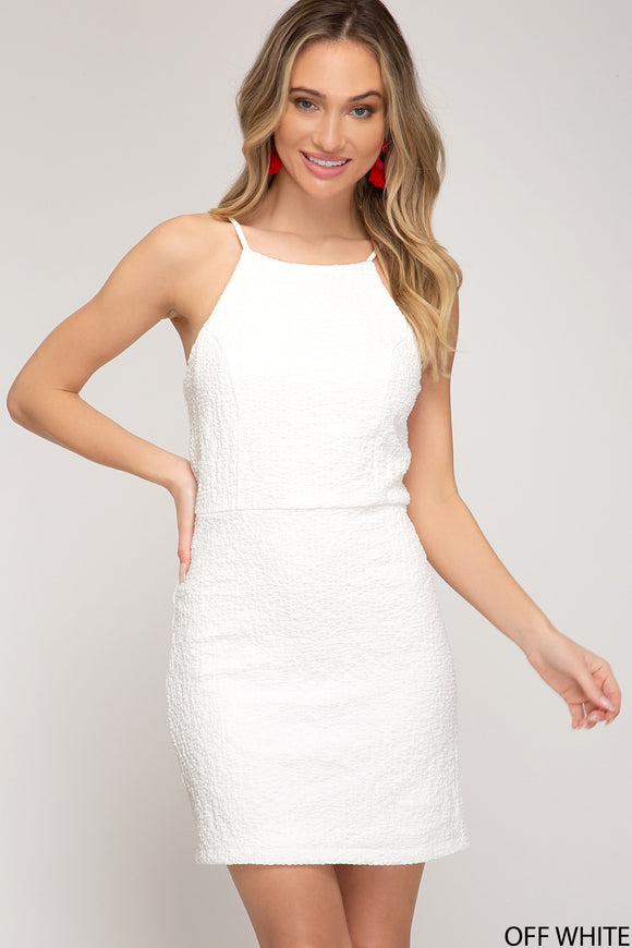 Margo Sleeveless Mini Dress
