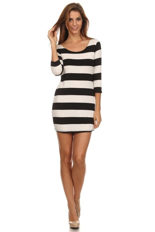 Kylie Knit Mini Dress - Other Colors Available