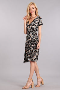 Fiona Floral Wrap Dress