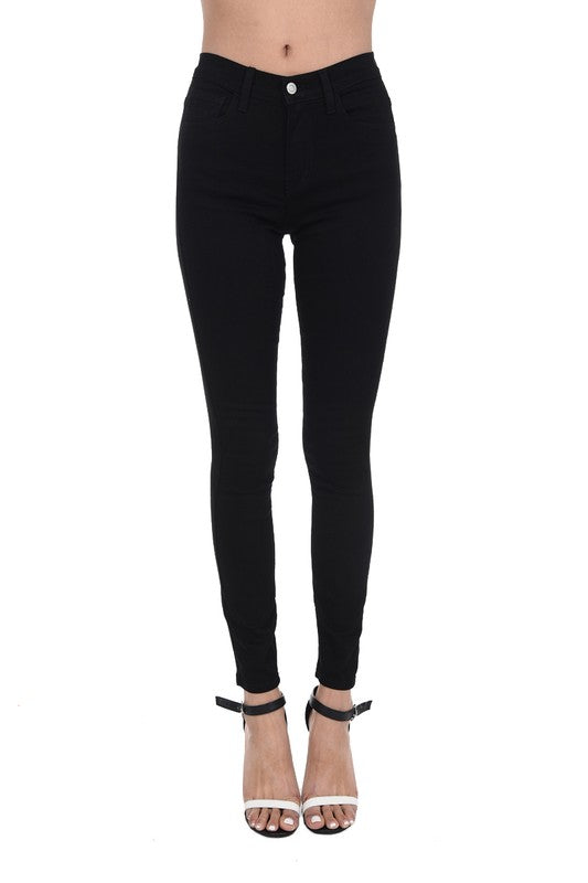 Mid-Rise Black Denim - Plus Size