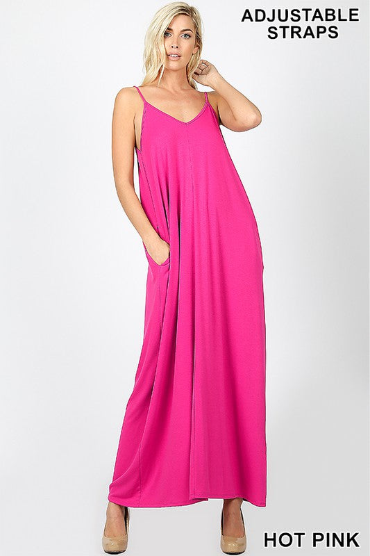 Monique Cami Maxi Dress