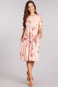 Maggie Floral Print Dress