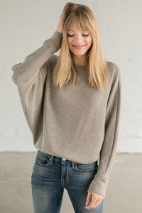 Kasandra Lightweight Dolman Sleeve Sweater