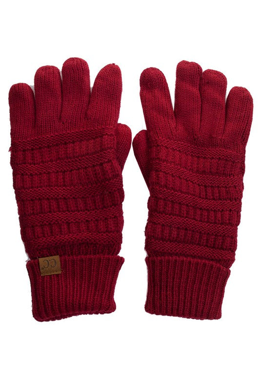 Knitted Gloves - Other Colors Available