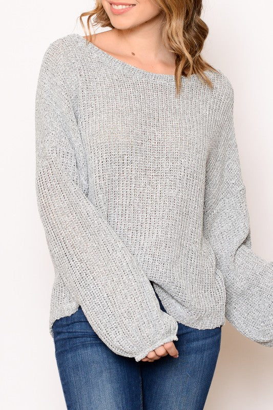 Brooke Loose Knit Sweater - Other Colors Available