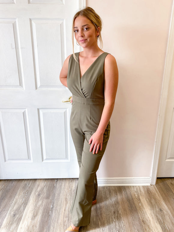 Chloe Sleeveless Jumpsuit