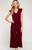 Celine Culotte Jumpsuit - Multiple Colors