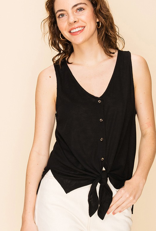 Darling Knot Front Tank