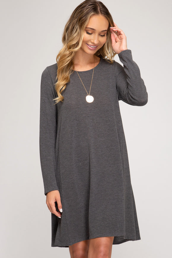 Dorothy Knit Swing Dress