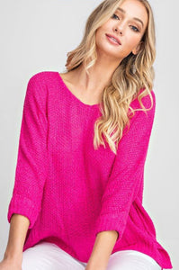 Emilee Slouchy Crew Neck Sweater