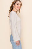 Florence Twist Back Sweater - More Colors