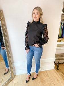 Penny Embroidered Top