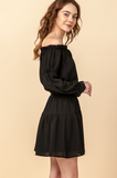 Iris Off Shoulder Dress - More Colors