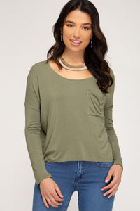 Sophie Round Neck Knit Top - More Colors