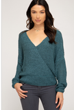 Sasha Open Back Sweater - Multiple Colors