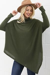 Claire Poncho Style Sweater - Other Colors Available