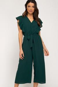 Ashton Cropped Jumpsuit - Other Colors Available
