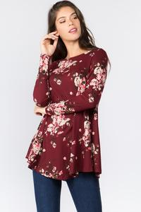 Nancy Floral Print Tunic