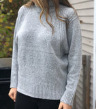 Remi Solid High Neck Sweater - Other Colors Available