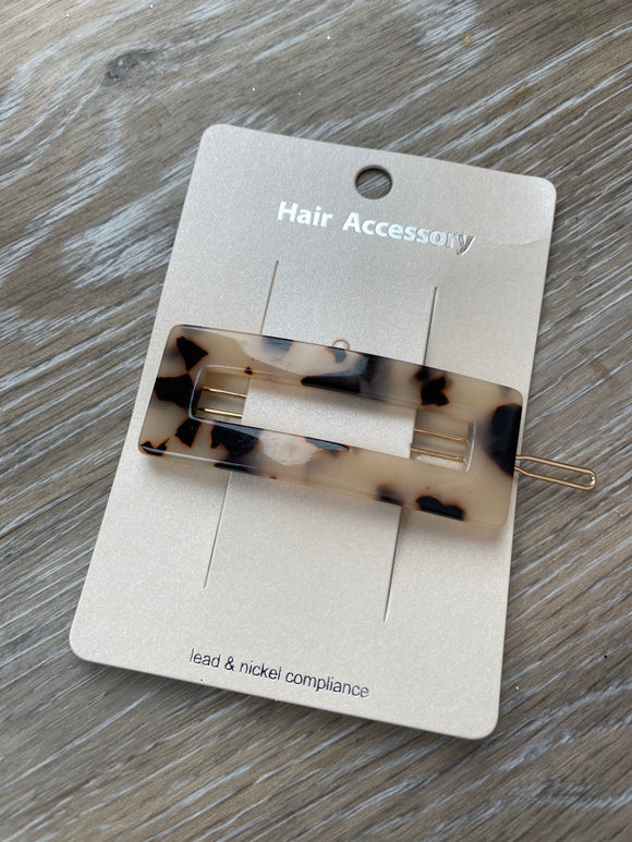 Julia Rectangle Hair Pin