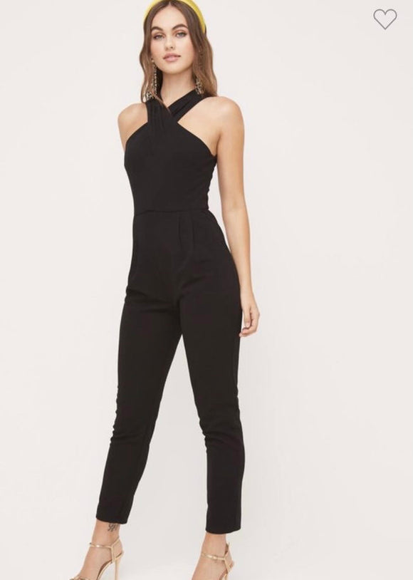 Rosemary High Neck Jumpsuit