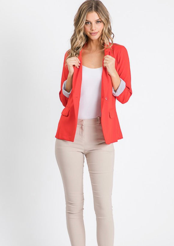 Laura Double Breasted Blazer