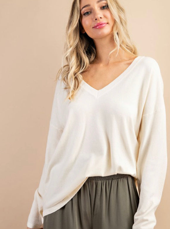 Dawn V-Neck Sweater