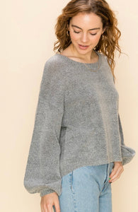 Gianna Balloon Sleeve Sweater - More Colors