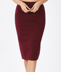 Lillian Pencil Skirt - More Colors