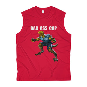 BAD ASS COP Sleeveless Performance Tee - RaptorCop