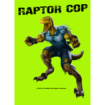 Raptor Cop Die Cut Stickers 3-pack - RaptorCop