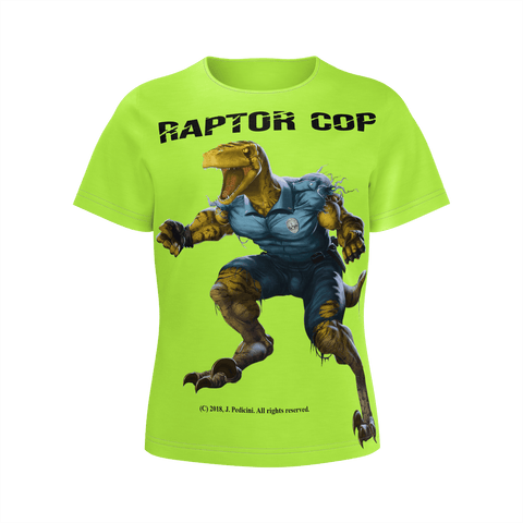 Raptor Cop T-shirt for Girls - RaptorCop