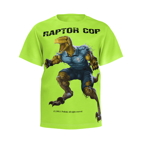 Raptor Cop T-shirt  for Boys - RaptorCop