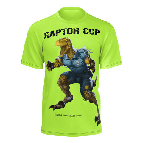 Raptor Cop T-shirt for Men - RaptorCop