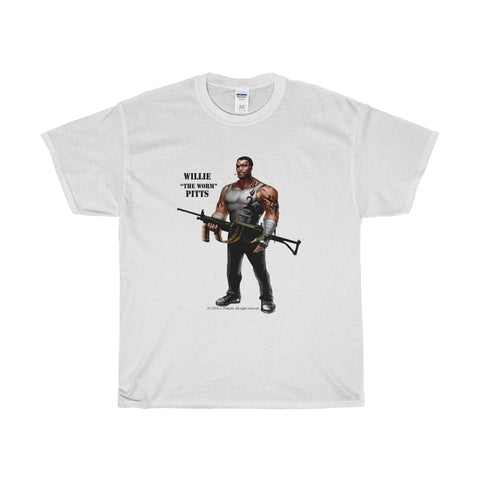 "Willie ""The Worm"" Pitts Unisex Heavy Cotton Tee - RaptorCop"