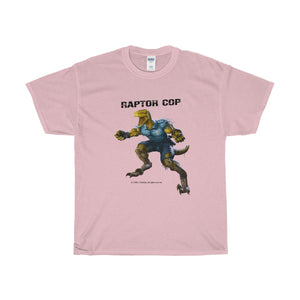 Raptor Cop (Pink) Unisex Heavy Cotton Tee - RaptorCop