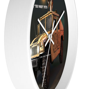 "Willie ""The Worm"" Pitts Wall Clock - RaptorCop"